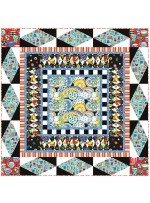 Table Talk Quilt by Heidi Pridemore