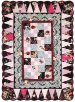 Tartan Rose Border Quilt by Marinda Stewart