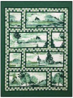 "Tuscan Impression Quilt by Marinda Stewart /43""x58"" - Instructions Coming Soon"