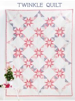 "Twinkle Quilt by Amanda Woodruff / 62.5""x95"""