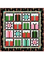 "Naughty or Nice Quilt by Marsha Evans Moore 48""x48"" -Pattern Available in May 2021"