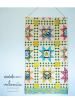Valencia 8 Pointed Star Quilt by Jessica Lane  / 56x70""