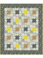 """Star Struck Quilt by Swirly Girls Design /60""""x72"""""""