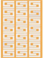 "Colourmaze -White Hot Quilt by Colourwerx 50""x70"""