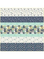 Wild and Free MINKY Strip Quilt -Free pattern available in October