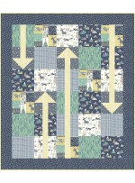 """The Places You'll Go Wild and Free Quilt - 48""""x56"""""""