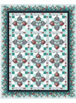 "Wildreness Quilt by Christine Stainbrook /67""x83"" - Instructions Coming Soon"