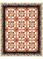 """Wildreness Quilt by Christine Stainbrook /67""""x83"""" - Instructions Coming Soon"""