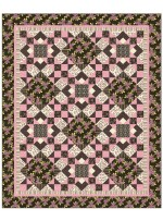 Wildflower Quilt by Heidi Pridemore / 69x87""
