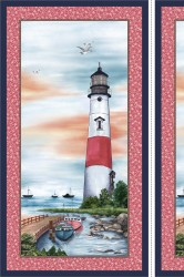 "LIGHTHOUSE PANEL -24"" repeat panel"