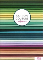 Cotton Couture Swatch Card - 214 Colors - 10 cards per Carton