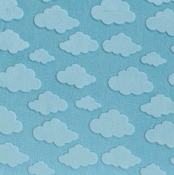 CLOUD EMBOSS- Contact your account manager to purchase this item