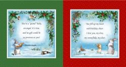 CHRISTMAS WISHES PANEL