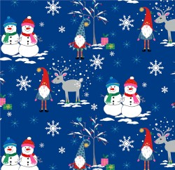 SNOW VILLAGE ON MINKY  - Contact your account manager to purchase this item