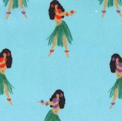 ISLAND GIRL LUAU ON MINKY