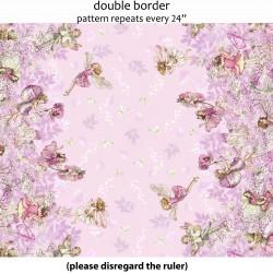 Dc5110 petal flowers border petal flower fairies fairy tale children petal fairies border mightylinksfo