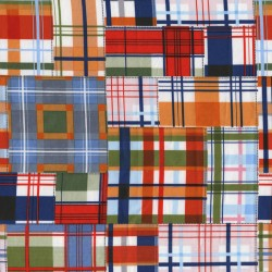 PATCHWORK PLAID