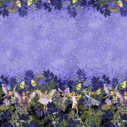NIGHT FAIRIES BORDER - NOT FOR PURCHASE BY MANUFACTURERS