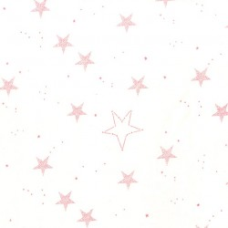 LUCKY STARS ON FLANNEL (non-metallic)