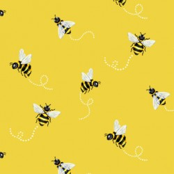 BEE SWIRL ON MINKY