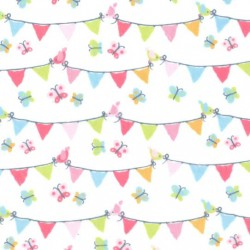PENNANT PARTY on MINKY- Contact your account manager to purchase this item