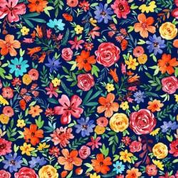 FLOWER JOY ON MINKY