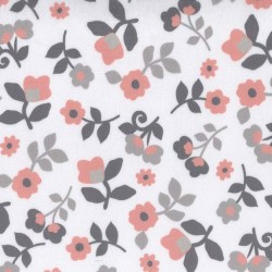 KASHMIR FLORAL on MINKY- Contact your account manager to purchase this item