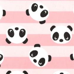 PANDA HEADS on MINKY