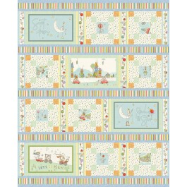 """Away We Go Quilt by Heidi Pridemore /63""""x78"""" - Pattern will be available in June"""