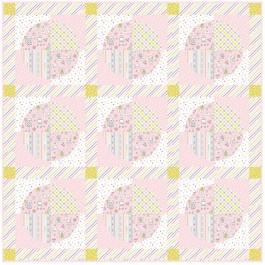 "Balls of Fun Quilt by Heidi Pridemore /44""x44"""