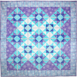 Blizzard QUILT by Susan Emory