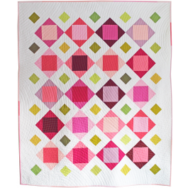 "Bloomin' Quilt by Tamara Kate  / 54x65"""
