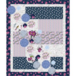 """Bubbles Quilt by Seams Like a Dream /50""""x60"""""""