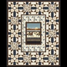 Buckaroo Quilt by Heidi Pridemore