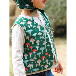 Forest Gifts Shephers's Vest by C'est Dimanche