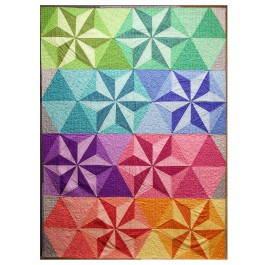 """Coco Star Quilt by Rob Appell 43.5""""x60"""""""