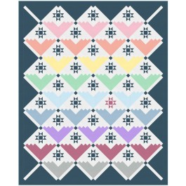 """Color Couture Quilt by Wendy Sheppard /81.5""""x100.5"""""""