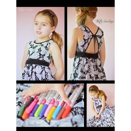 Color Me Dress by That's Sew Kari