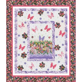 Fairy Dream Quilt by Heidi Pridemore   / 55x65""