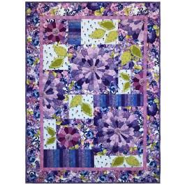 """Dressden Fantasy Bloom Quilt by Marinda Stewart /42""""x58"""""""