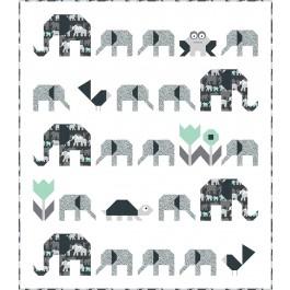 "Trekking Quilt by Sew Fresh Quilts /48""x55"""