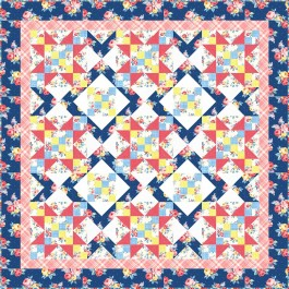 "Farmhouse Lap Quilt by Swirly Girls Design /60""x60"""