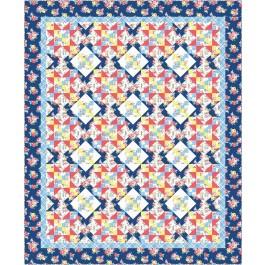 "Farmhouse Quilt by Swirly Girls Design /82""x100"""