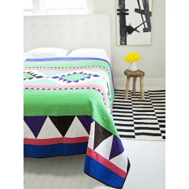 Fiesta Blanket Quilt by Stephanie Kendron & Lucy Edson - INSPIRATION ONLY