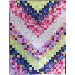 Flight Formation Quilt by Tamara Kate / 58x76""