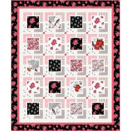 "Float Away Quilt by Seams Like a Dream /55""x66"""