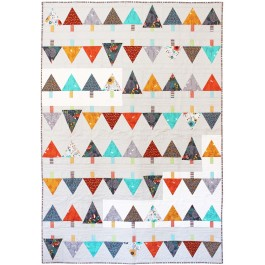 """Forest Row Quilt by Tamara Kate Designs /54""""x80"""""""