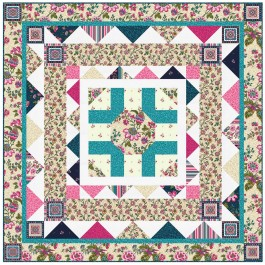 """Provencial French Provencial CreamQuilt by Heidi Pridemore /58""""x58"""""""
