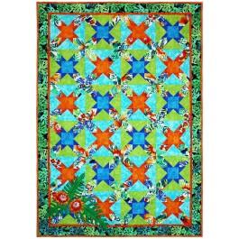 """Garden Isle Quilt by Marinda Stewart / 42""""x60"""""""
