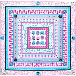 "Glam Medallion Quilt by Tamara Kate /57-1/2""x57-1/2"""